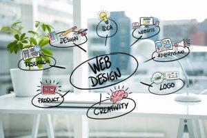 como crear un sitio web con diseño